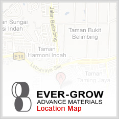 Ever-Grow Advanced Materials Location Map